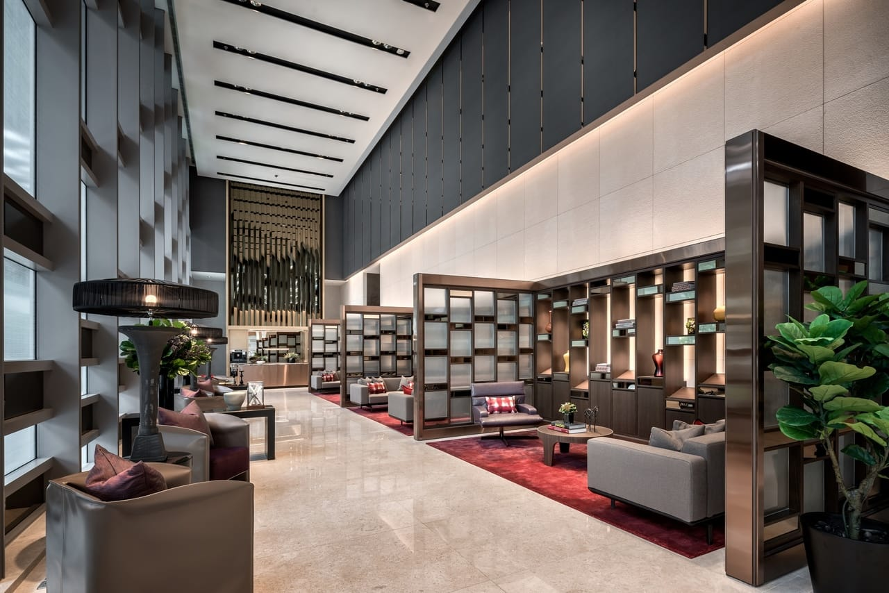 Wallich Residence Arrival Lobby Singapore
