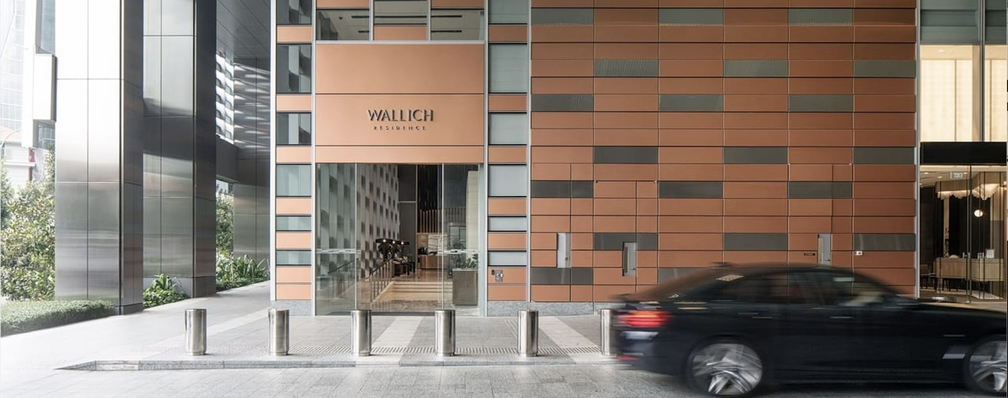 Wallich Residence Arrival Singapore