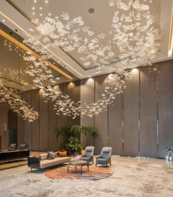 Wallich Residence Lift Lobby Singapore