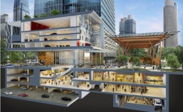 Wallich Residence Retail Section Plan Singapore
