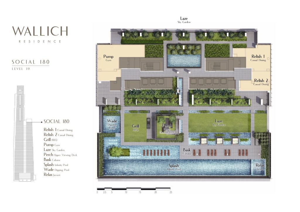 Wallich Residence Site Plan 1 Singapore