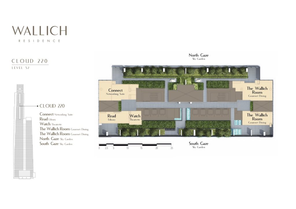 Wallich Residence Site Plan 2 Singapore