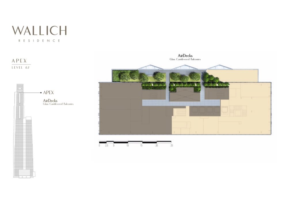 Wallich Residence Site Plan 3 Singapore